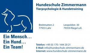 Hundeschule Zimmermann Lahr